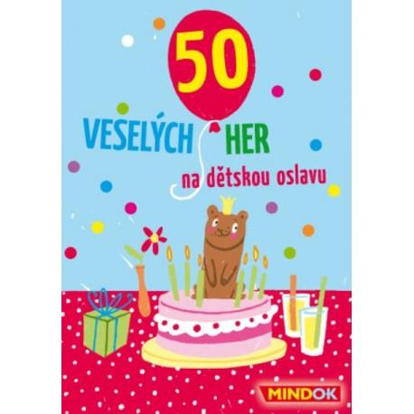 50 her na dětskou oslavu