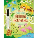Wipe-Clean Animal Activities