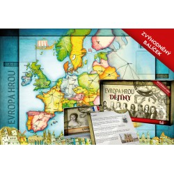 Zvýhodněný balíček: Evropa hrou ZEMĚPIS + DĚJINY