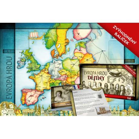 Evropa hrou ZEMĚPIS + DĚJINY