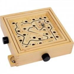 Dřevěný labyrint s kuličkou