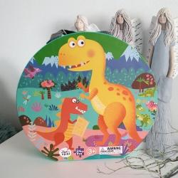 Podlahové puzzle: Dinosaurus
