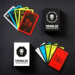 Fantastické karty IMAGLEE: Bílá a černá krabička