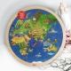 Svět: Oboustranné puzzle